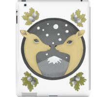deer couple iPad Case/Skin