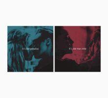CLEXA: IT'S OUR PARADISE AND IT'S OUR WAR ZONE by the100merch