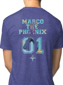 Marco The Phoenix  Tri-blend T-Shirt