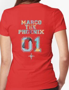 Marco The Phoenix  Womens Fitted T-Shirt