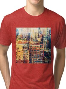 life in the city Tri-blend T-Shirt