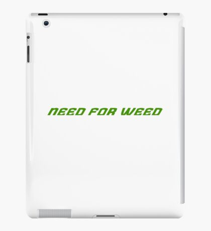Weed Racing Gamer iPad Case/Skin