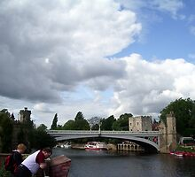 River Ouse Bridge in York. by Woodie