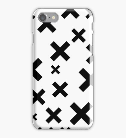 Multiply Black & White iPhone Case/Skin