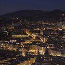 Salzburg by nite  by Bokeh  Photography