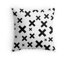 Multiply Black & White Throw Pillow