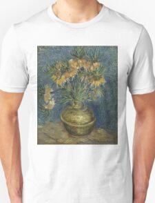 Vincent Van Gogh - Imperial Fritillaries in a Copper Vase, 1887 T-Shirt