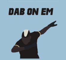 Pogba - Dab on Em Celebration minimalist Kids Tee