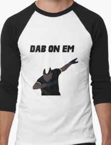 Pogba - Dab on Em Celebration minimalist Men's Baseball ¾ T-Shirt