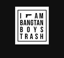 I am bangtan boys trash - white block in black. Unisex T-Shirt