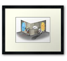 The Muffin is a Lie Framed Print
