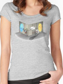 The Muffin is a Lie Women's Fitted Scoop T-Shirt