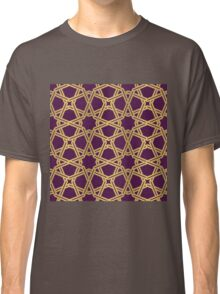 Geometric girih pattern Classic T-Shirt
