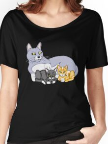 Mothers Love Cat and Kittens Women's Relaxed Fit T-Shirt