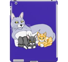 Mothers Love Cat and Kittens iPad Case/Skin