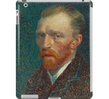 Vincent Van Gogh - Self-Portrait, 1887  Impressionism iPad Case/Skin