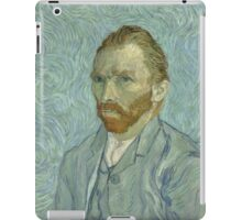 Vincent Van Gogh - Self-Portrait 2, 1889 iPad Case/Skin