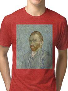 Vincent Van Gogh - Self-Portrait 2, 1889 Tri-blend T-Shirt