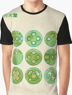 Video Game Controllers Graphic T-Shirt