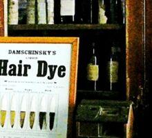 Hair Dye Sticker