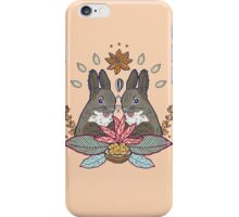 squirrel love iPhone Case/Skin