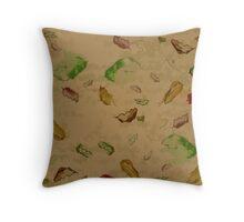 Oak Leaves 2 Throw Pillow