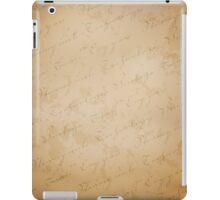 Steampunk background iPad Case/Skin
