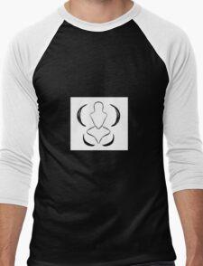 Labellum Logo Men's Baseball ¾ T-Shirt