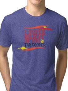 Believe In Tad Cooper Tri-blend T-Shirt