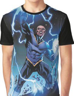 Black Lightning Graphic T-Shirt
