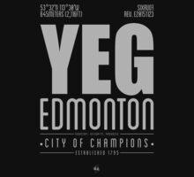 YEG - Edmonton Baby Tee
