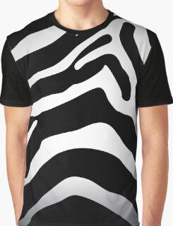 Zebra texture Graphic T-Shirt