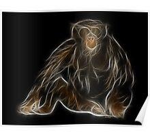 Monkey - Chinese Zodiac by Liane Pinel Poster