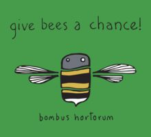 Give bees a chance! Kids Tee