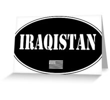 Iraqistan Greeting Card