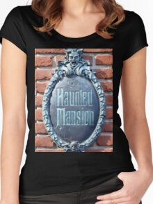 The Haunted Mansion Women's Fitted Scoop T-Shirt
