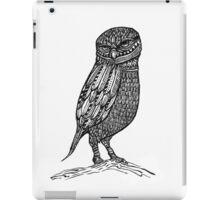 Ink Owl iPad Case/Skin
