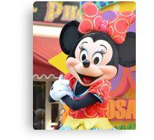 Minnie Mouse Metal Print