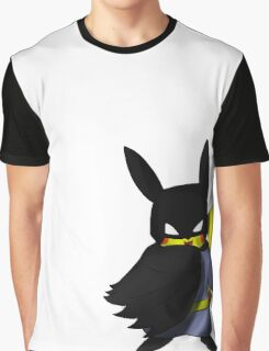 Batchu --- Pikachu as Batman Graphic T-Shirt