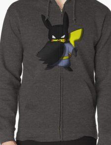 Batchu --- Pikachu as Batman Zipped Hoodie