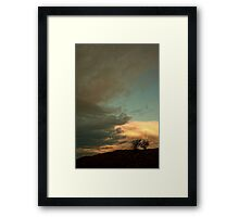 Landscape - sunrise Framed Print