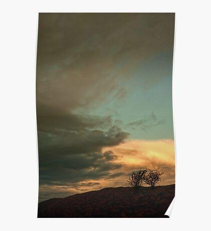 Landscape - sunrise Poster