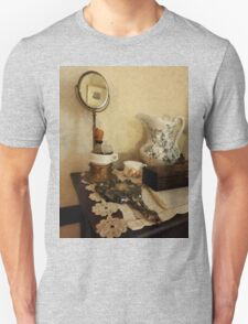 Shaving Brush Mugs And Mirror Unisex T-Shirt
