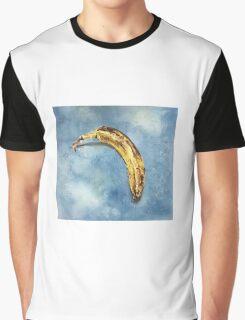 Sad Banana School Portrait Graphic T-Shirt