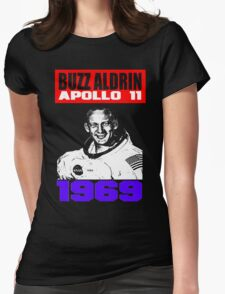 BUZZ ALDRIN Womens Fitted T-Shirt
