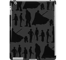 Print-cess Leia & Friends in Rows iPad Case/Skin
