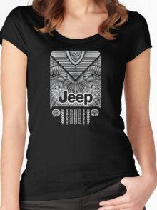 Aztec offroad Women's Fitted Scoop T-Shirt