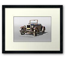 1925 Chevrolet Series K Roadster Framed Print