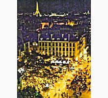 Street of Paris from Centre Pompidou - Artistic Classic T-Shirt