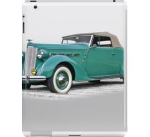 1937 Packard 120 Contvertible Coupe iPad Case/Skin